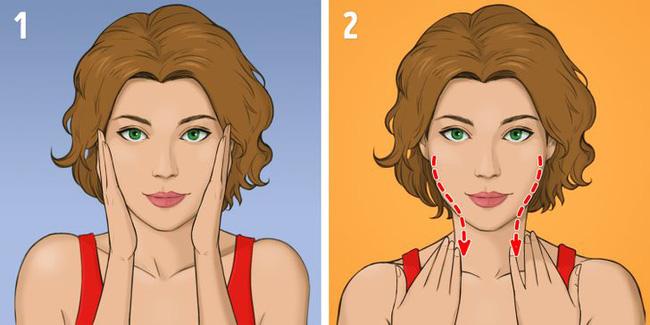 Được coi là phương pháp giúp khuôn mặt trẻ hơn 10 tuổi mà không tốn kém, chị em tiếc gì 5 phút mỗi ngày mà không thực hiện ngay - Ảnh 3.