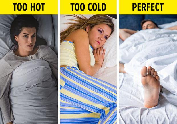 Lý giải dành cho tư thế ngủ siêu hoàn hảo chúng ta ai cũng làm: Đắp chăn và thò chân ra ngoài - Ảnh 2.