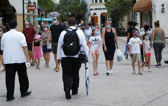 Tâm dịch mới Florida của Mỹ tăng sốc: 15.300 ca COVID-19 trong 24 giờ - Ảnh 1.