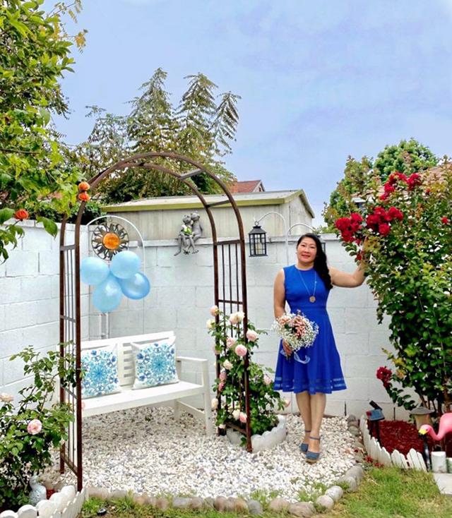 Khu vườn rộng 300 m2 của mẹ Việt ở Mỹ khiến bao người mê mẩn - 12